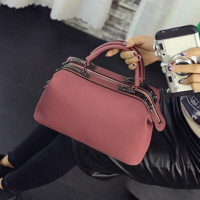 2018 Women Fashion casual Boston handbags women evening clutch messenger bag ladies party famous brand shoulder crossbody bags