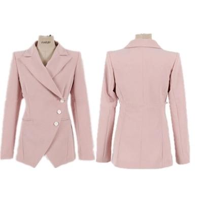 Formelle 2018 Rose Et Vintage Vestes Costumes Travail D'affaires 2 Pièces Bureau Automne 1 Costume Nouveau Pour Femmes Blazer Plaid Pantalons qga4v