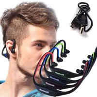 Sport Running Bluetooth Earphone For Nokia 515 Dual SIM Wireless Earbuds Headsets With Microphone