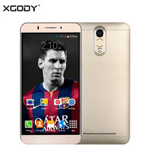 XGODY Y20 Mobile Phone Android 5.1 MTK6580 Quad Core 1G+8G Unlocked Dual Sim Card Smartphone Free Silicone Case & Silicone Case
