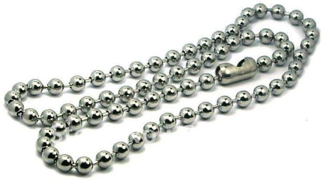inches axc chain connector stainless steel tierracast ball clasp thick with necklace