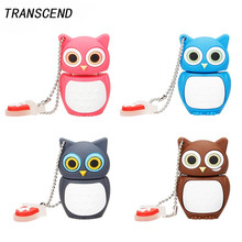 Transcend novelty owl personalized gift high speed USB3.0 flash pen driver 4GB 8GB 16GB 32GB 64GB U disk Pendrives company gift