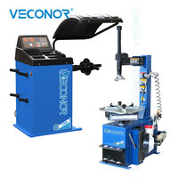 Semi automatic Car Tire Changer Machine and Wheel Balancer Combo Basic Model with CE