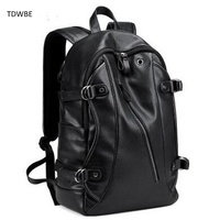2017 New Fashion 16 Inch Men Laptop Backpacks Large Capacity Notebook Bagpack School Black Bag Teenager