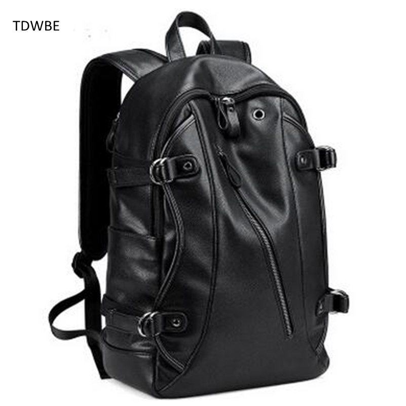 2017 New Fashion 16 inch Men Laptop Backpacks Large Capacity Notebook Bagpack School Black Bag Teenager Boy Mochila Promotion ootdty new fashion anime theme death note cosplay notebook new school large writing journal 20 5cm 14 5cm