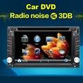 Windows Сенсорный Экран HD В Тире Двойной DIN Автомобильный GPS Стерео DVD GPS Плеер Bluetooth ТВ Радио Вызова Музыка Видео Аудио Головное устройство