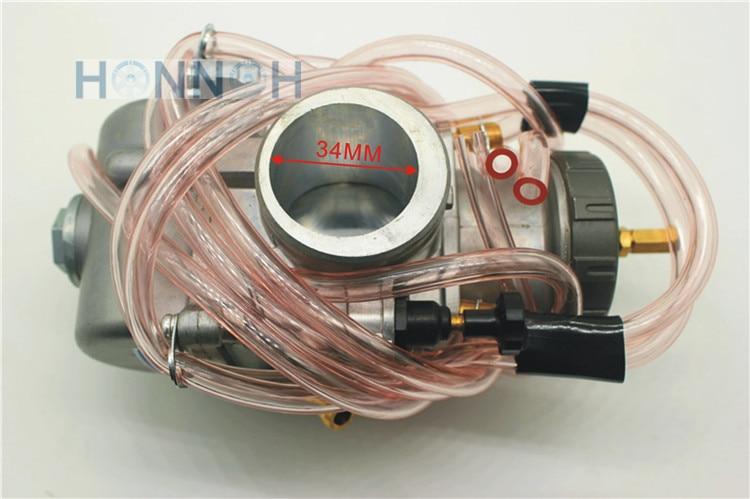 free shipping : carburetor BRAND NEW 34 mm FOR Keihin PWK Carburador Motorcycle Universal Used ATV UTV 34mm PWK Carburetor карбюратор keihin 2 в калининграде