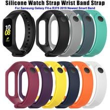Soft Sports Silicone Replacement Watch Strap Wrist Band For Samsung Galaxy Fit-e R375 Smart Bracelet Accessories