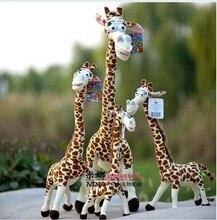 big plush giraffe toy lovely plush giraffe toy stuff creative giraffe doll gift doll about 110cm