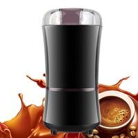 220V Electric Coffee Grinder Mini Kitchen Salt Pepper Grinder Powerful Spice Nuts Seeds Coffee Bean Grind Machine Food Mills