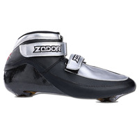 JEERKOOL Roller Skates Inline Speed Skates Shoe 6 Layers Carbon Fiber Ice Skates Boot for Adult Kids 165/195 Mount Distance SX6