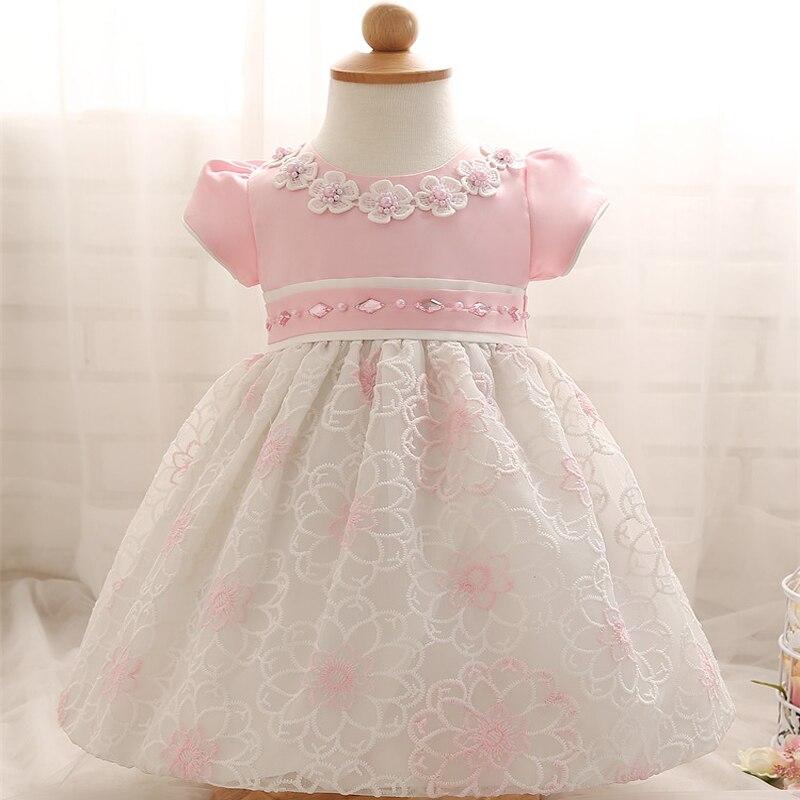 Toddler Girl Dress For Baby Children Flower Girl 1 Year