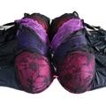 WX14004 frete grátis super big bra mulheres bras plus size D/DD/DDD E F G SUTIÃ para big size mulheres lace floral rendas copo grande