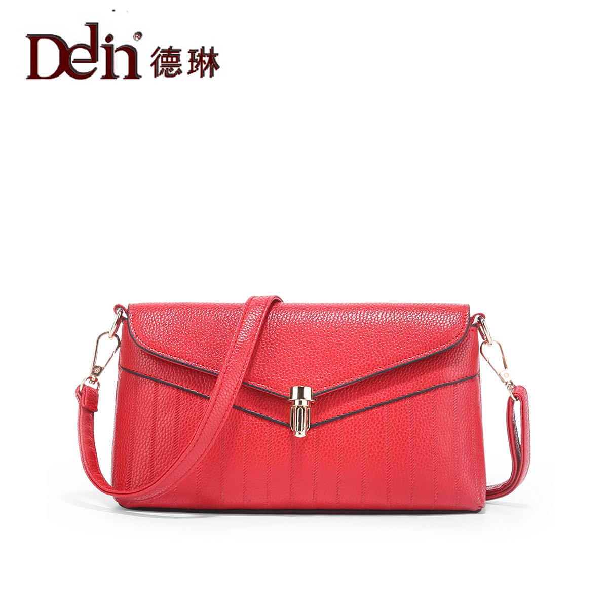 DELIN Manufacturers selling 2017 new female bag fashion PU xiao fang bag lady one shoulder inclined shoulder bag