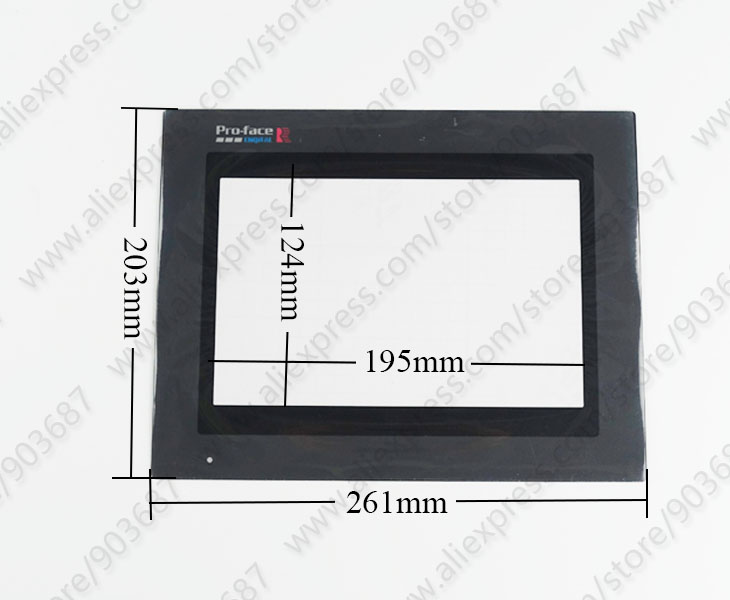 NEW For PRO-FACE GP570-SC21-24VP Touch screen panel #H2519 YD