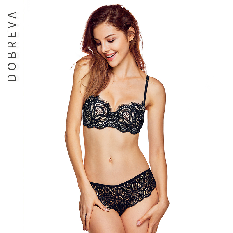 Women   Bra   Sexy Lingerie Women Underwear Lace Lingerie Underwear Front Closure   Bra     Set