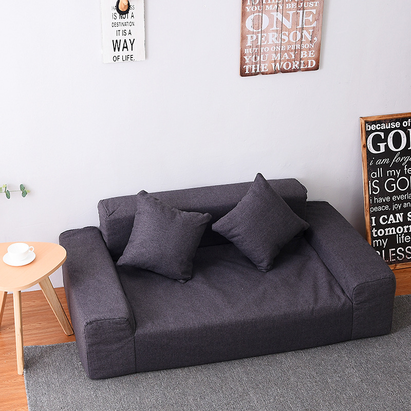 Modern Floor Double Sofa Love Seat
