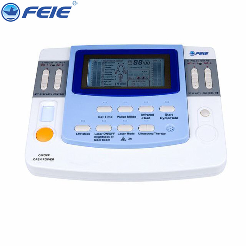 Multifunctional Physiotherapy Instrument Medical Treatment EA-VF-29 Cervical Vertebra lumbar Pulse Acupuncture Acupoint Massage rechargeable multifunctional meridian massage the whole body of household authentic cervical vertebra acupuncture pulse fields p