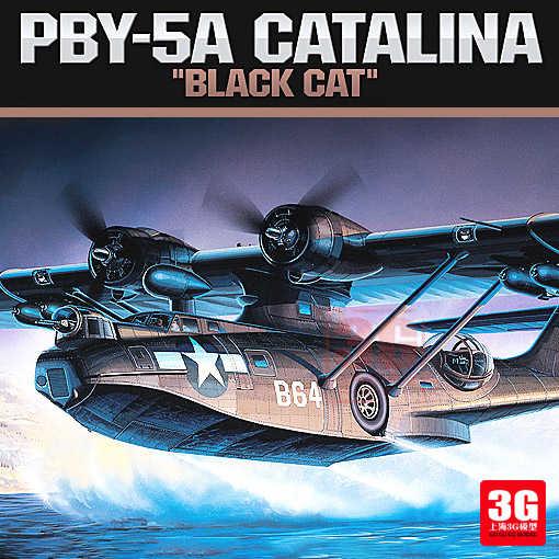 1/72 PBY-5A Catalina Anti-sous-marin de Reconnaissance Avion Assemblé Avion Modèle 12487