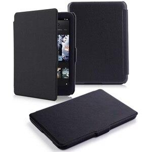 Ultra slim PU leather case for tolino shine hd 2 ereader 2015 smart cover case for tolino shine hd 2 6inch auto sleep cover capa(China)