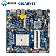 цена на Gigabyte MQHUDVI AMD A75 Original Used Desktop Motherboard Socket FM2 AMD Fusion APU DDR3 16G SATA3 USB3.0 HDMI DP Thin Mini ITX
