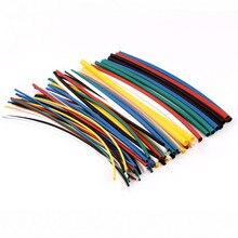 70 stücke 2:1 Polyolefin Schrumpfschlauch Rohr Kits 5 größen Flammschutzmittel Durable 7 Farbe Sortiert Farben Verhältnis