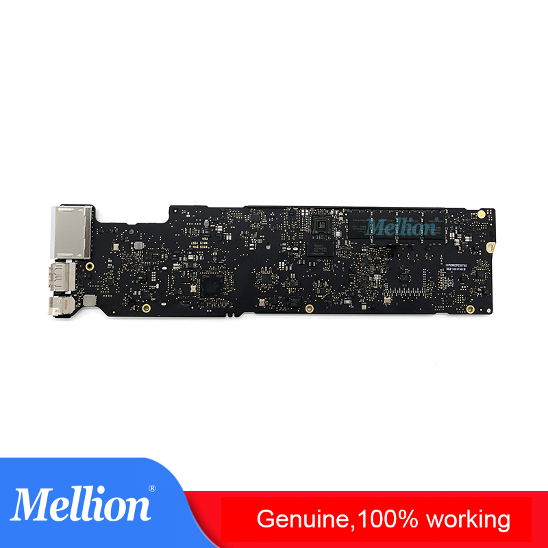 Original A1466 Laptop Motherboard para MacBook Air 13 ''i5 1,8 GHz 8G 2017 Año MQD32 Notebook Logic Board A1466 placa madre probada