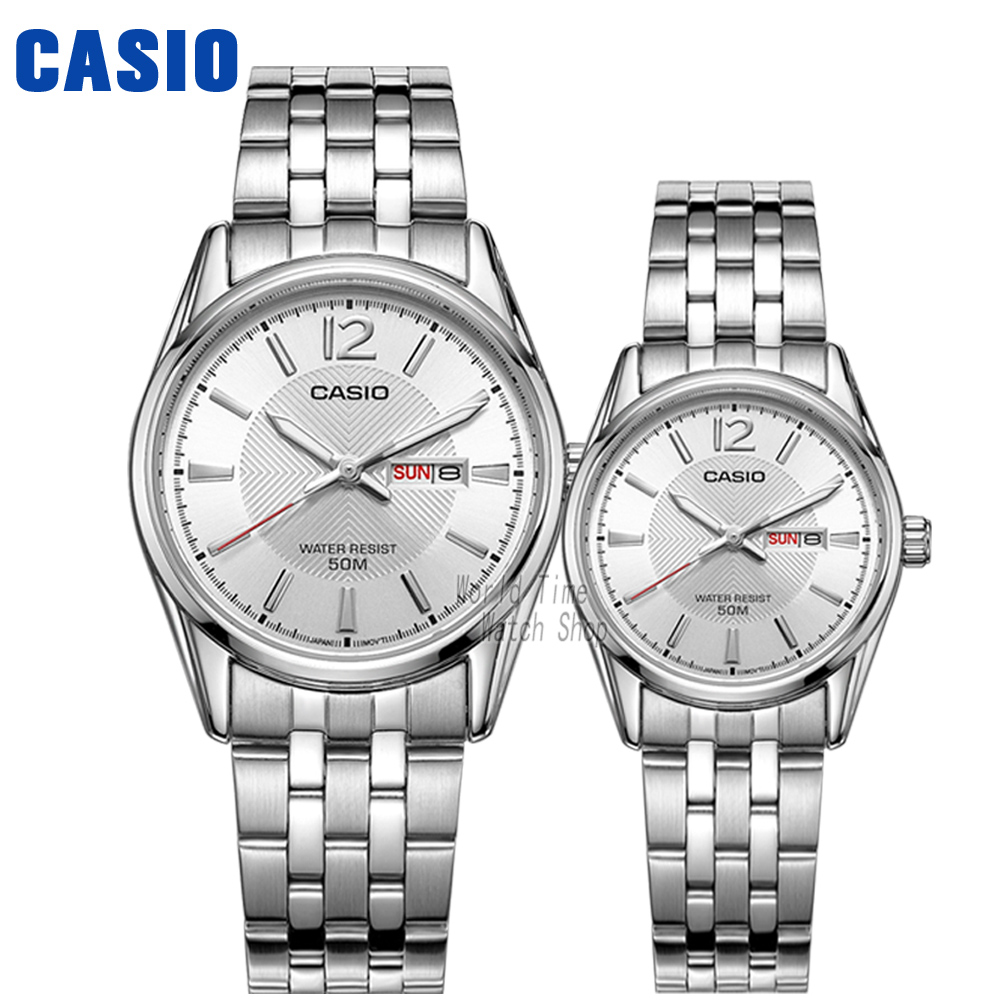 Casio watch Leisure and waterproof quartz couple table MTP-1335D-7A LTP-1335D-7A MTP-1335D-1A LTP-1335D-1A MTP-1335D-1A casio watch fashion casual quartz needle steel watch ltp 1359rg 7a ltp 1359sg 7a