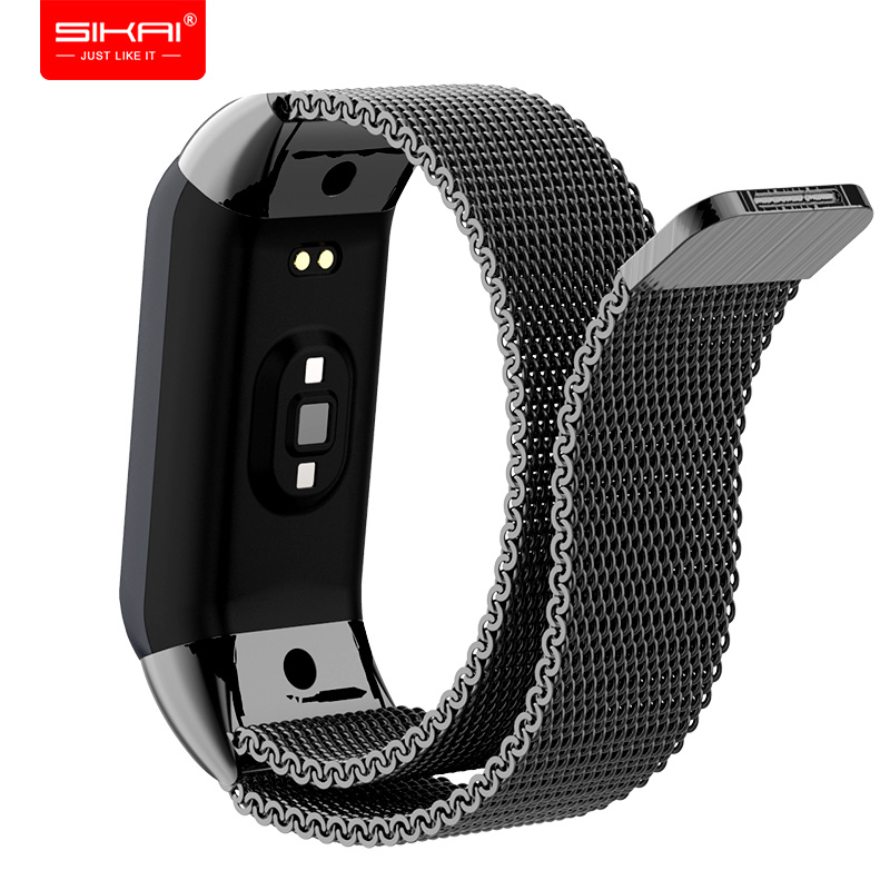 for <font><b>Amazfit</b></font> <font><b>Cor</b></font> <font><b>2</b></font> Wrist Strap Replaced Midong <font><b>2</b></font> <font><b>bracelet</b></font> Band for Xiaomi Huami Wristband SIKAI image