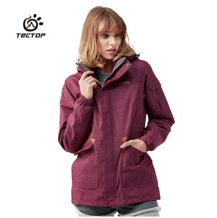 WOMEN Winter Outdoor Hiking Jacket Windproof Waterproof Two-piece Soft Jacket Travel Fishing  Cycling Climbing Camping Coat NEW new arrival dental model copper material copper statue of man and teeth tooth model dental pathology teeth model