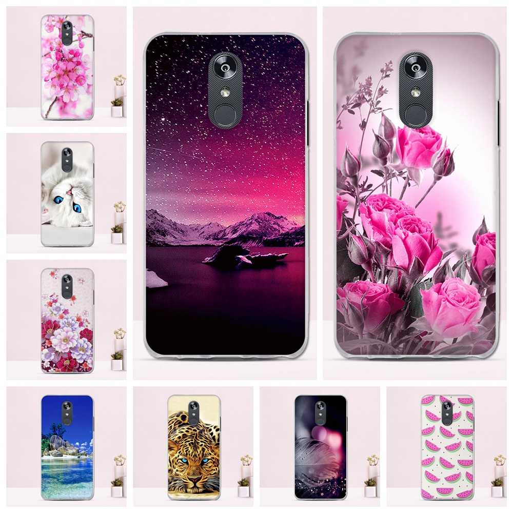 Phone Case For LG Stylo 4 Case 3D Relief Pattern Soft TPU Cover For LG Q Stylus Case Protective Back Cover For LG Stylo 4 Coque