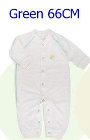 Комбинезоны для маленьких мальчиков и девочек, коллекция года, Одежда для новорожденных и малышей, детский хлопковый комбинезон с длинными рукавами, Красивый хлопковый комбинезон унисекс - Цвет: 66CM GREEN