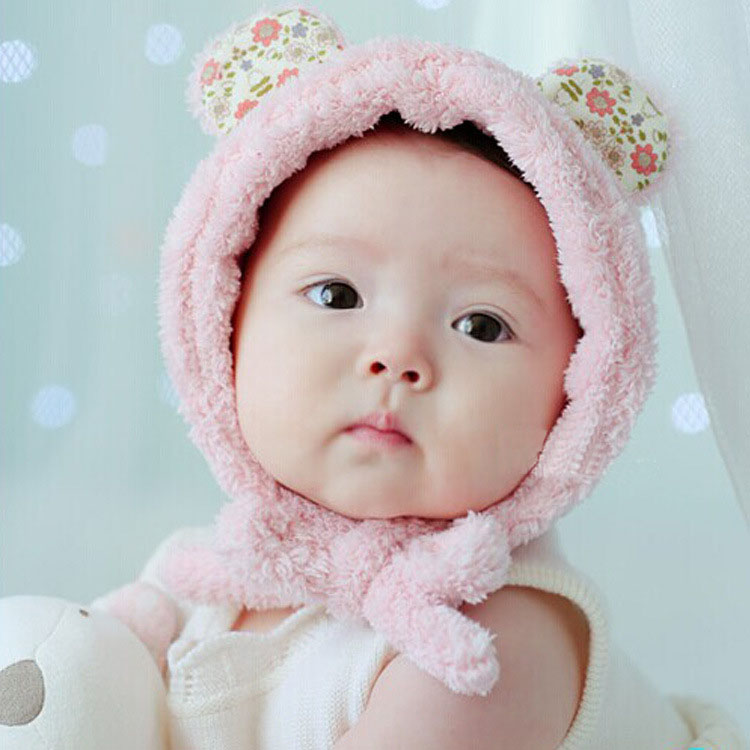 New Winter Baby Cap Soft Fleece Baby Girl Toodler Infant Cap Cute Newborn Photography Props Baby Beanie Hat 0 10 Month Baby Beanie Hat Infant Capnewborn Photography Props Aliexpress