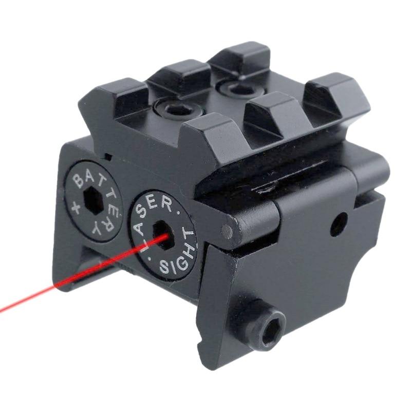 Hunting Rifle de Aire pistola Accessious Compacta Ajustable Punto Rojo Mira Láse