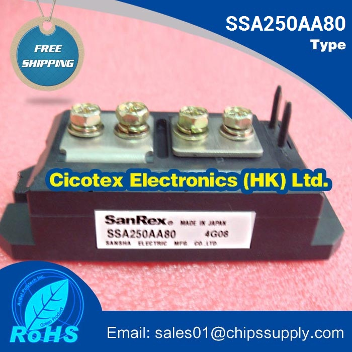 Module de Thyristor SSA250AA80 IGBT