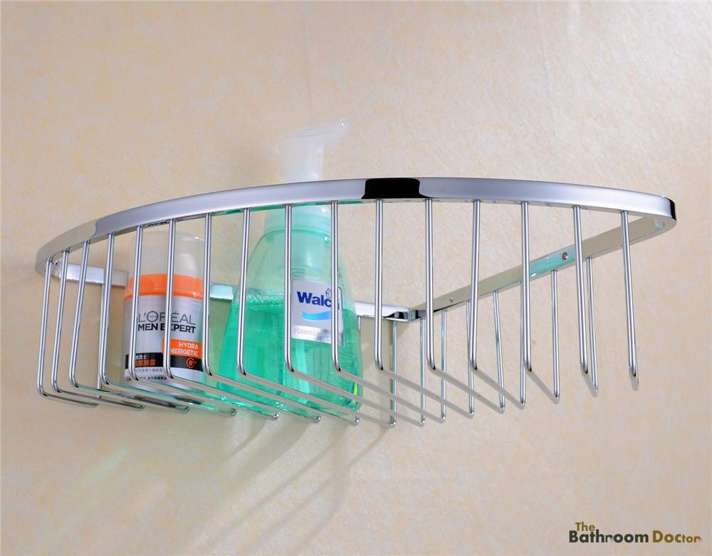Bath Caddies Shower Wall Corner Shelves Baskets, Stainless Steel ...