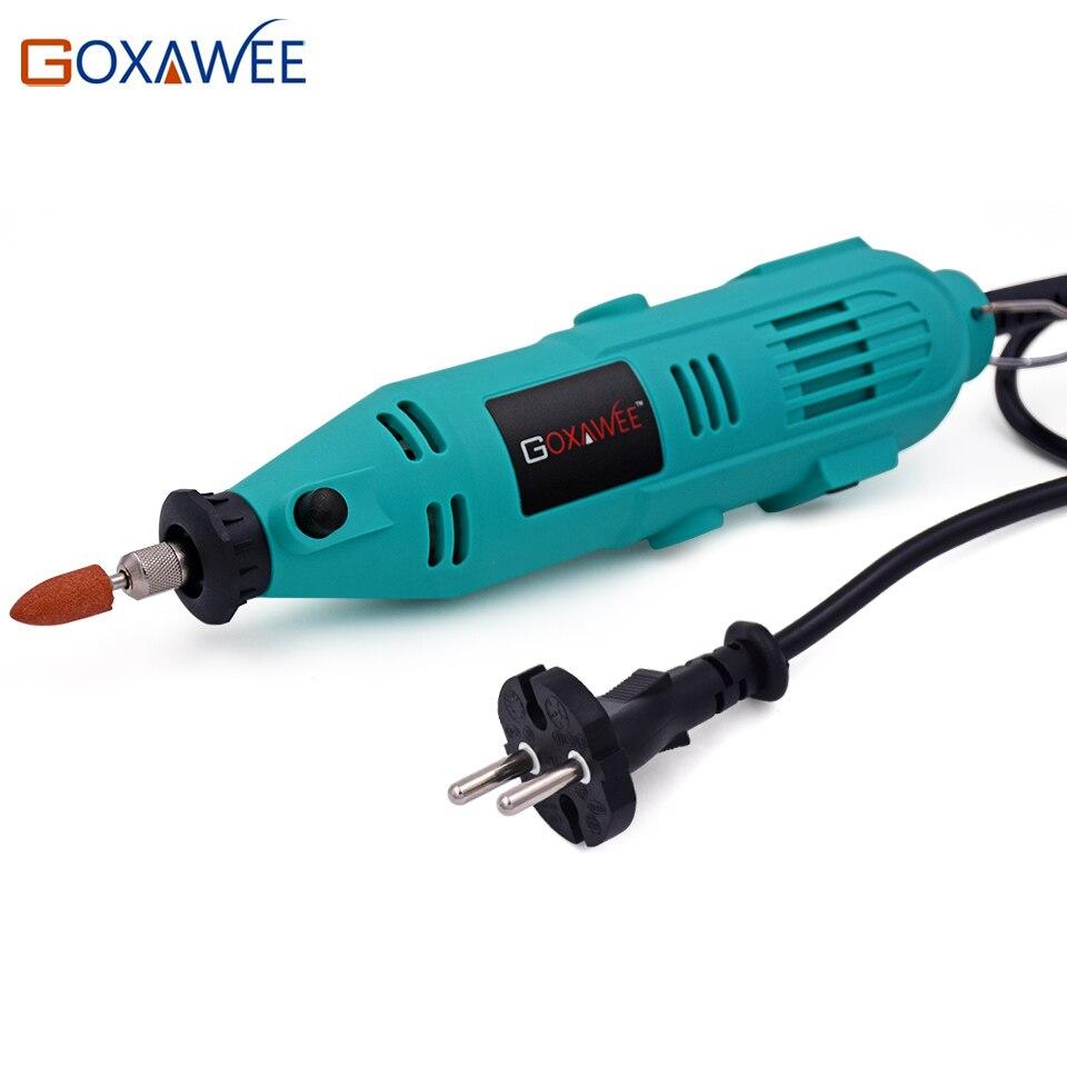 GOXAWEE Elektromos fúrószerszámok Mini fúrók Dremel - Elektromos kéziszerszámok - Fénykép 3