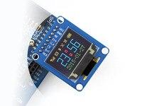 Waveshare 0.95 pulgadas rgb oled (B) Módulo OLED Kit con SSD1331 Chip Controlador 96*64 Resolución SPI Pinheader I2C con Vertical