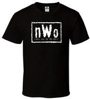 NWo - Black T-Shirt New World Order N.W.o Hulk Razor Nash WCW Sizes S-2XL Harajuku Funny Men Tee T Shirts Interesting