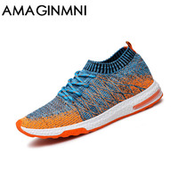 2017 New Breathable Mesh Summer Men Casual Shoes Slip On Male Fashion Footwear Slipon Walking Unisex