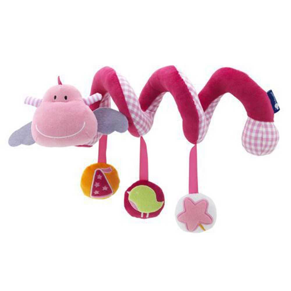 Fulljion детские погремушки, мобильные игрушки, мультяшная коляска, игрушка для обучения, развивающие погремушки, милый детский автомобиль, висячий колокольчик, прекрасный подарок для новорожденных