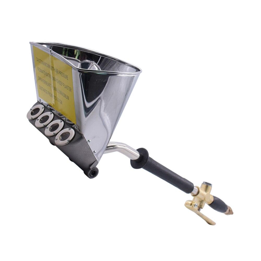 Pistolet de pulvérisation de toit efficace pneumatique Portable pulvérisateur multifonction ciment mortier pelle pulvérisateur de peinture