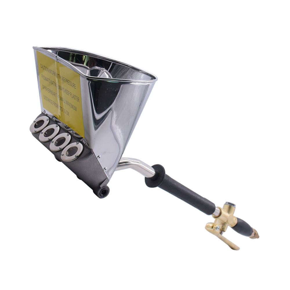 Pulvérisateur multifonctionnel portatif pneumatique de pistolet de pulvérisation de toit de rendement élevé Machine de pulvérisateur de peinture de pelle de mortier de ciment