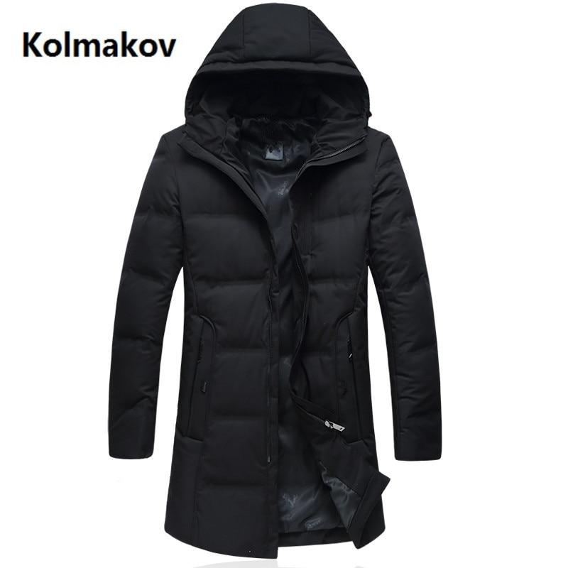 2018 new arrival Men's down jacket mens high quality 90% white duck down coats men fashion jacket men,winter men's coat L-6XL