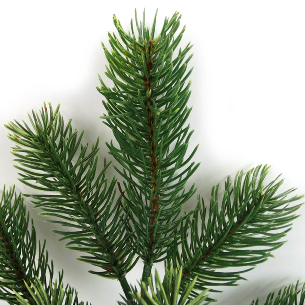 Image 3 - 48cm Artificial Plants Pine Branches Christmas Tree Wedding Decorations DIY Handcraft Accessories Children Gift Bouquet-in Artificial & Dried Flowers from Home & Garden