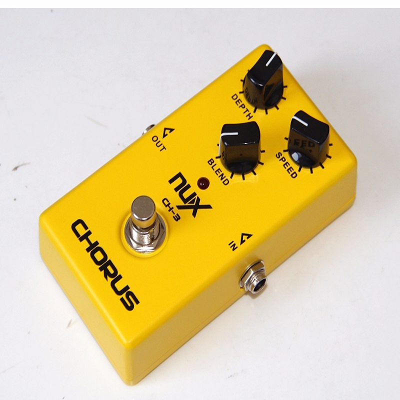 ФОТО NEW Adapted low noise BBD in delay circuit NUX Effect Pedal/CH-3 Vintage Chorus True bypass hardware switching