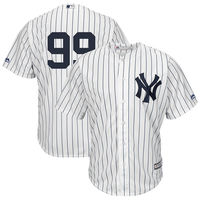 Men S New York Yankees Aaron Judge Majestic White Cool Base Player Replica Jersey