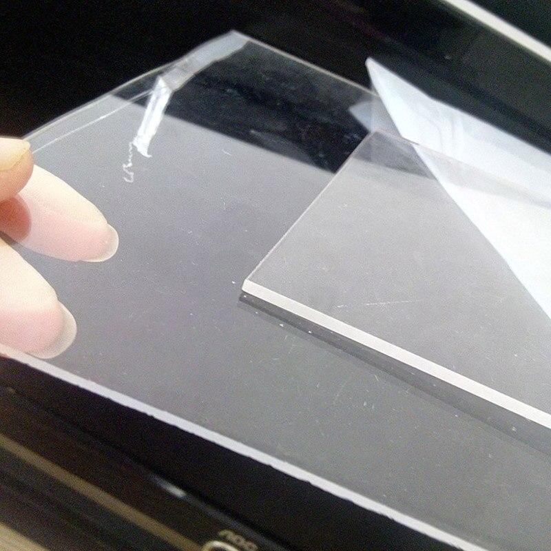 Us 9 85 Transparent Plexiglass Plate Pmma Diy Acrylic Aquarium Fish Tank Accessories Technical Model Accessories Custom Cutting In Aquariums