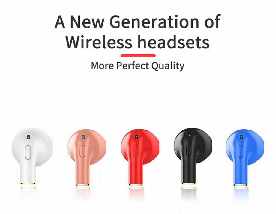 YODELI i8x Bluetooth Earphone Mini Wireless Bluetooth Headset In-Ear Earbuds With Mic For Hands-Free For iPhone X 7 8 Plus 6S 6 (9)