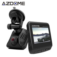 Azdome DAB211 A12 Car Dash Cam 2 K 1440 P de Ambarella Super Tablero de Instrumentos de Visión nocturna Cámara Grabadora DVR Con GPS ADAS Bucle grabación